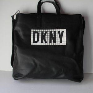 DKNY Tile Logo Shoulder Bag